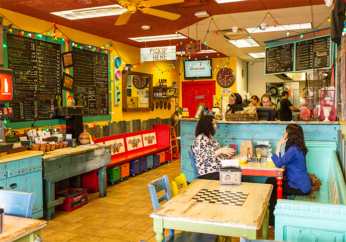 Cactus Cafe Interior