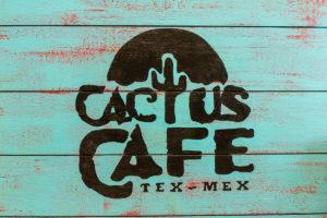 Cactus Cafe Sign