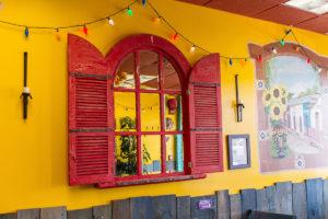 Cactus Cafe Window